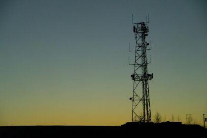 A mobile mast